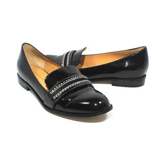 BADGLEY MISCHKA Sonoma Patent Leather Loafers